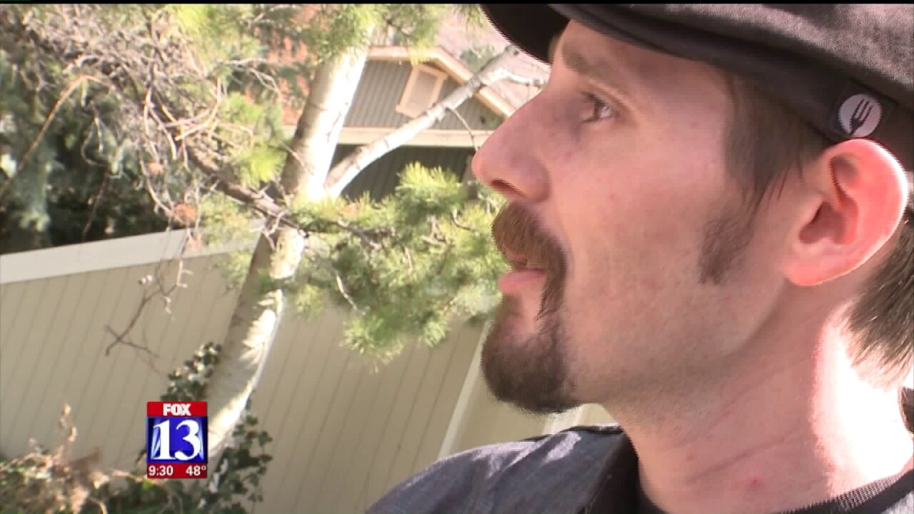 Cottonwood Heights Police arrest burglary suspect with help from armedcitizen