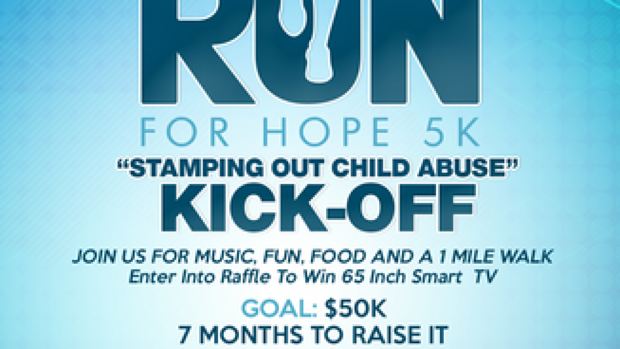 Walk/Run For Hope Stamping Out Child Abuse