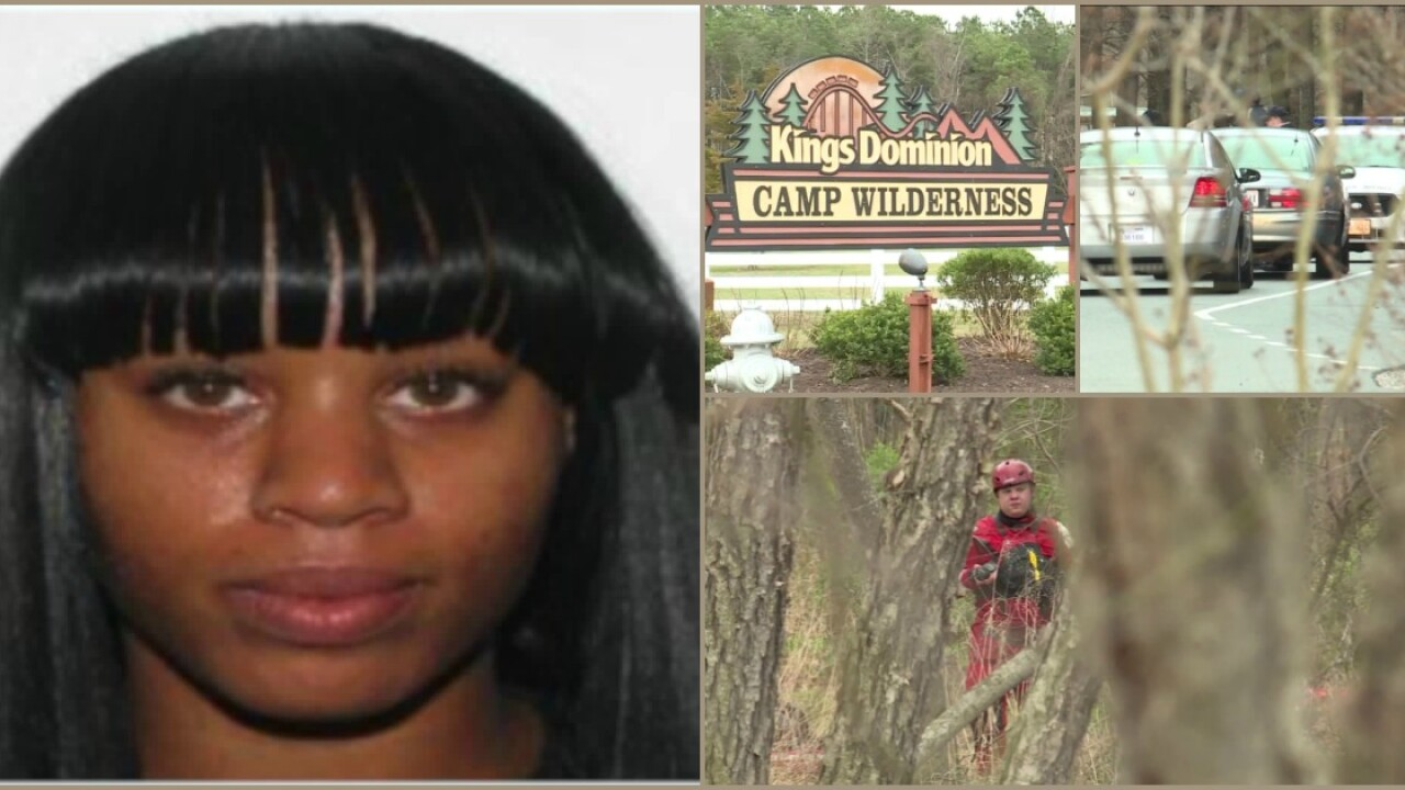 Search called off for missing woman last seen at Kings Dominioncampground