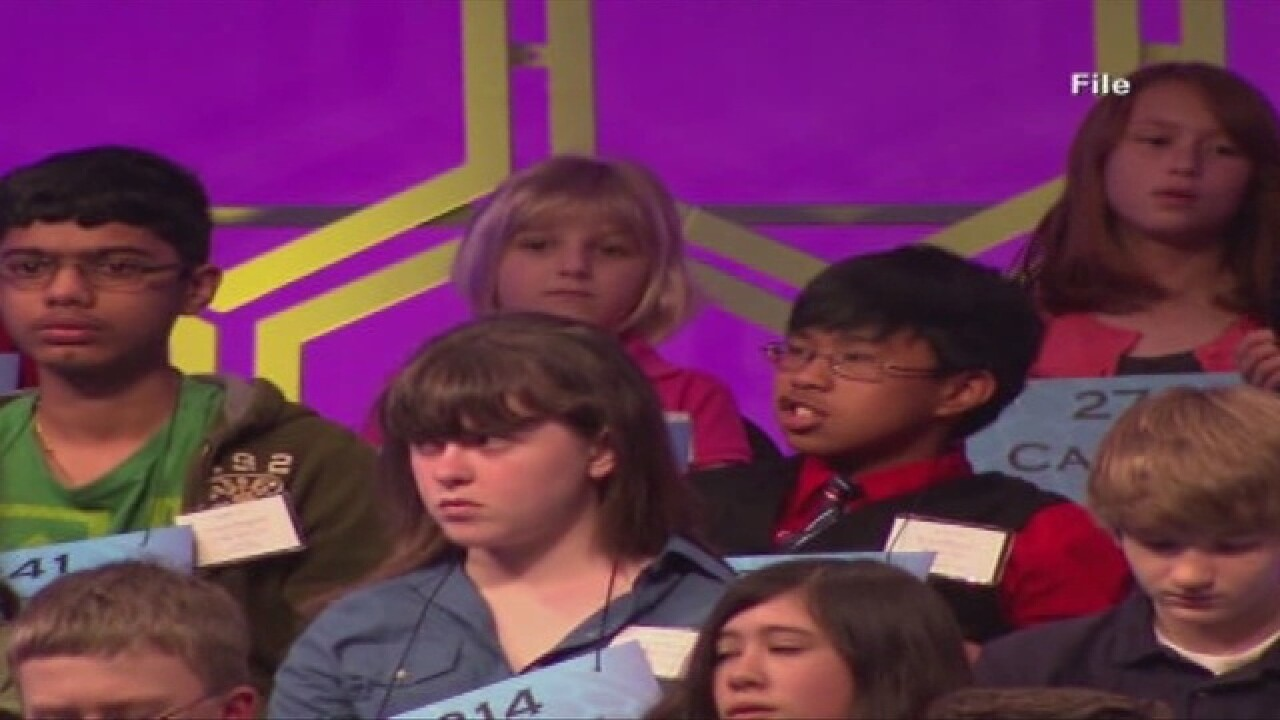 Local students compete in Scripps spelling bee