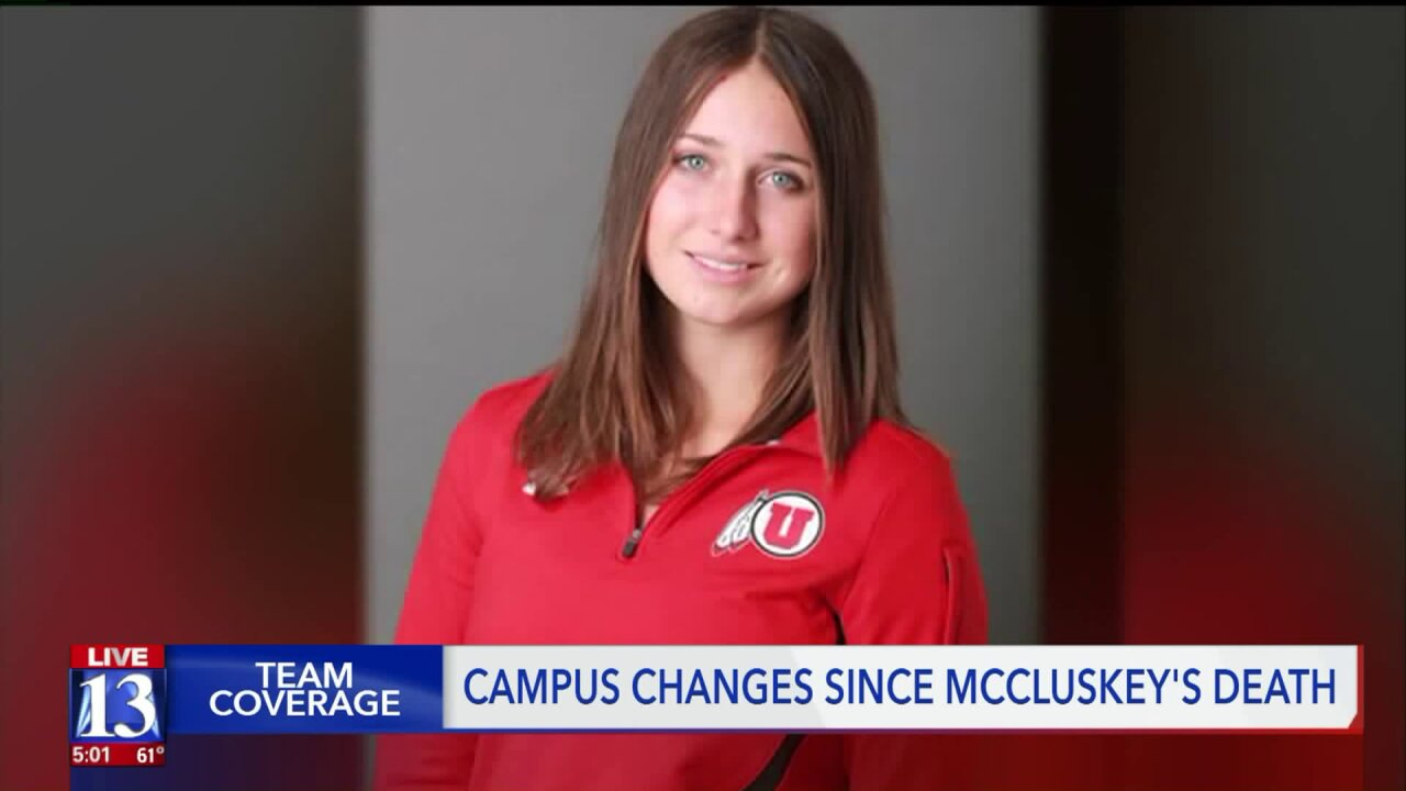 Here's what the U of U says has changed one year after Lauren McCluskey's death