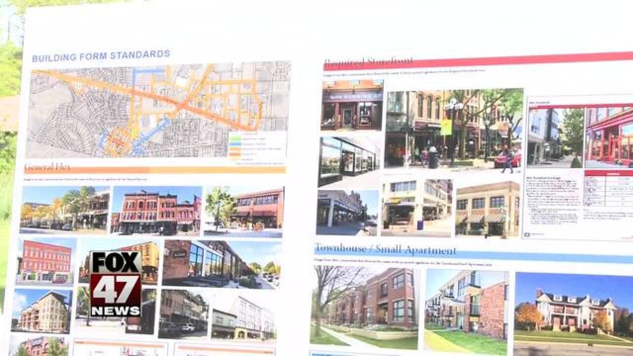 Downtown Okemos re-develop plan