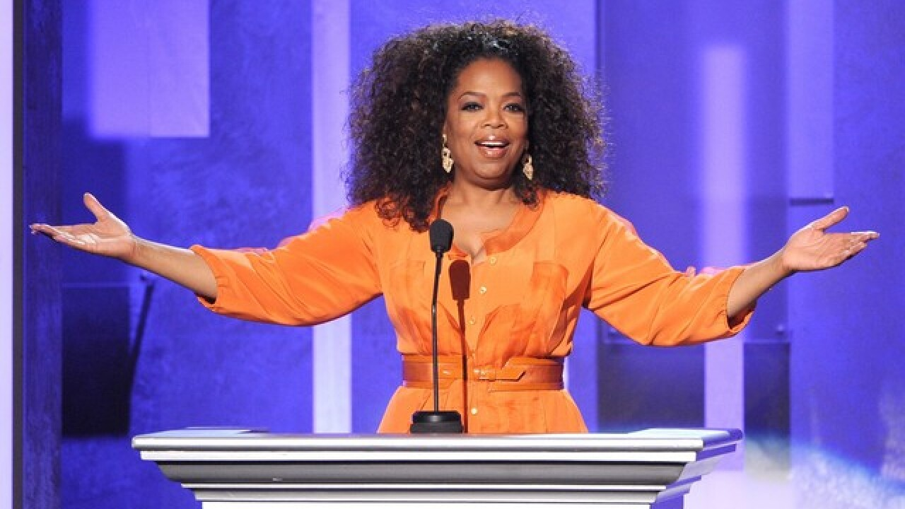Oprah hadn't been in a bank for 29 years