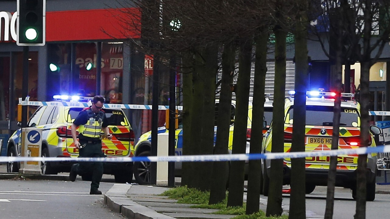 London police shoot man over 'terrorism-related' stabbings