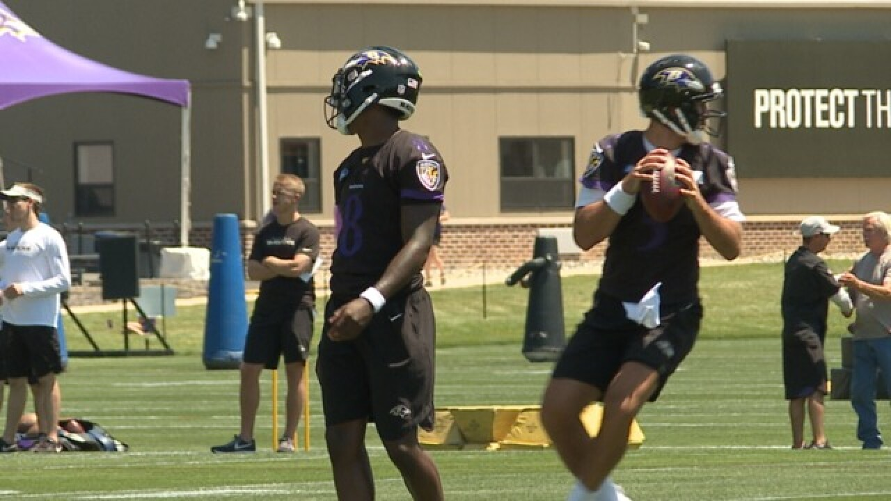 Ravens hit the field for training camp