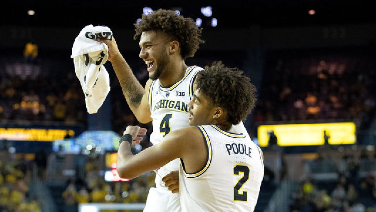 Michigan Basketball ranked No. 1 in NCAA's NET rankings