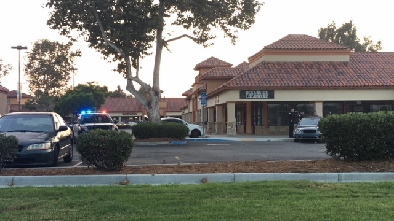 Suspects arrested after reportedly shooting three women at Oceanside shopping center