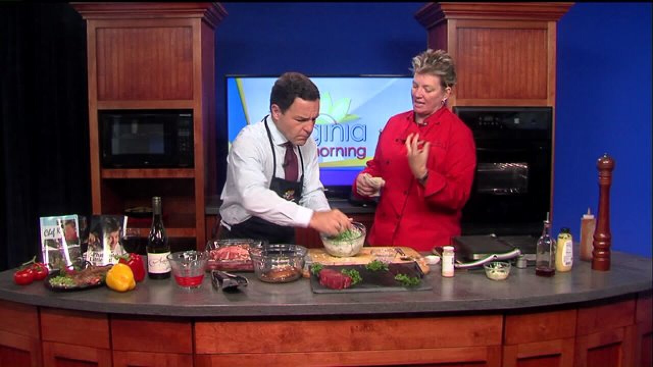 Chef K brings the heat with a Spicy Wasabi Pea Salad recipe