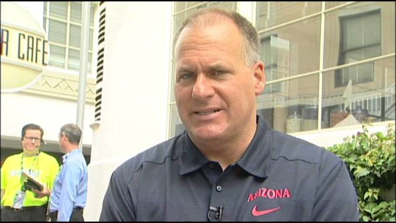 Arizona Football Coach Rich Rodriguez Named President Of American