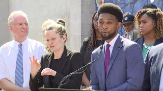 Brandon Scott unveils Baltimore City crime reduction plan
