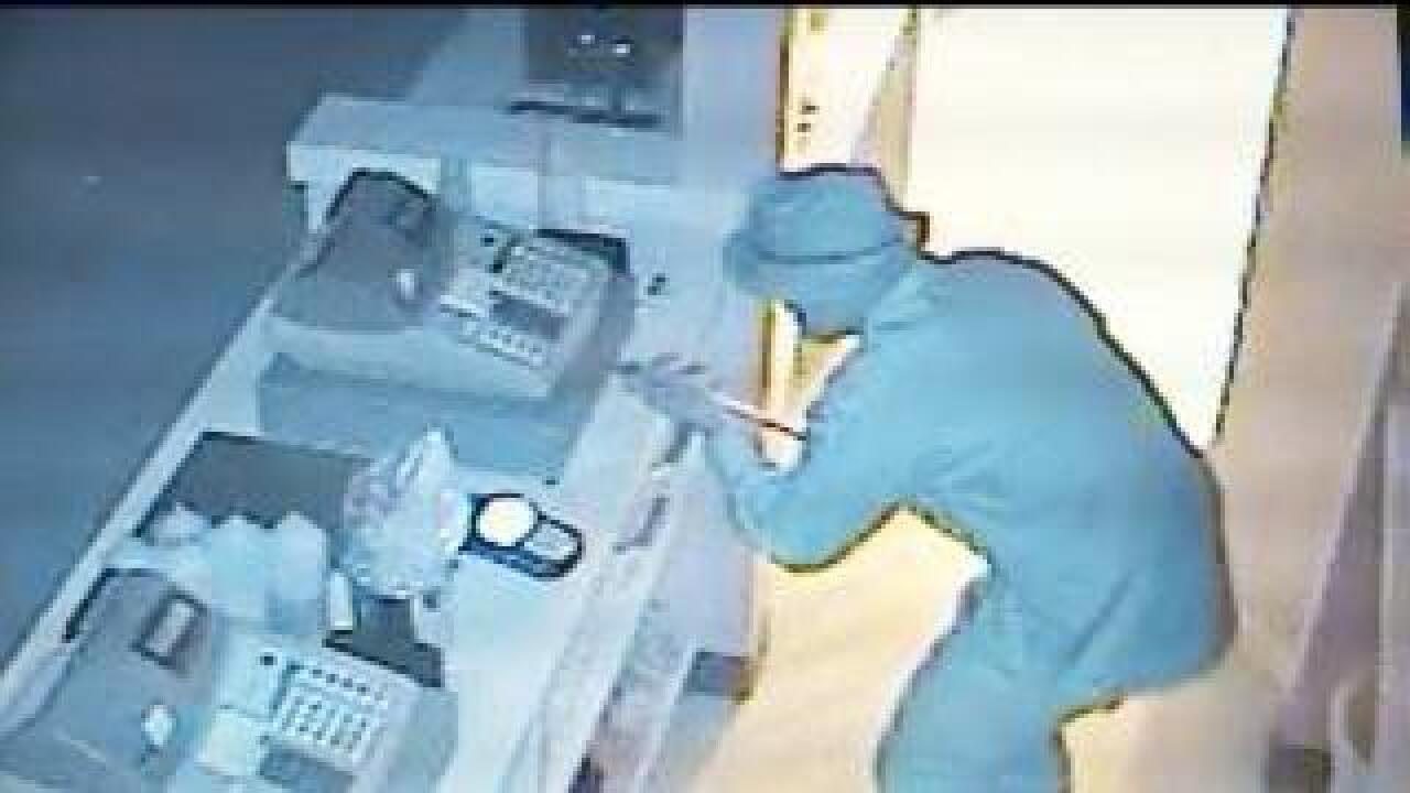 Surveillance video shows Kaysville burglary suspect