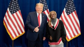 Trump meets with rapper Lil Wayne in Florida