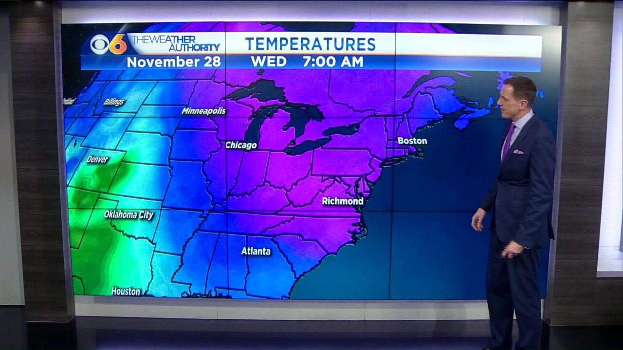 When another shot of cold air arrives thisweek
