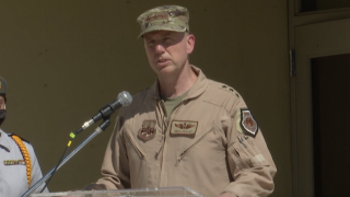 Tucson native serves U.S. Air Force in Afghanistan, returns to visit students