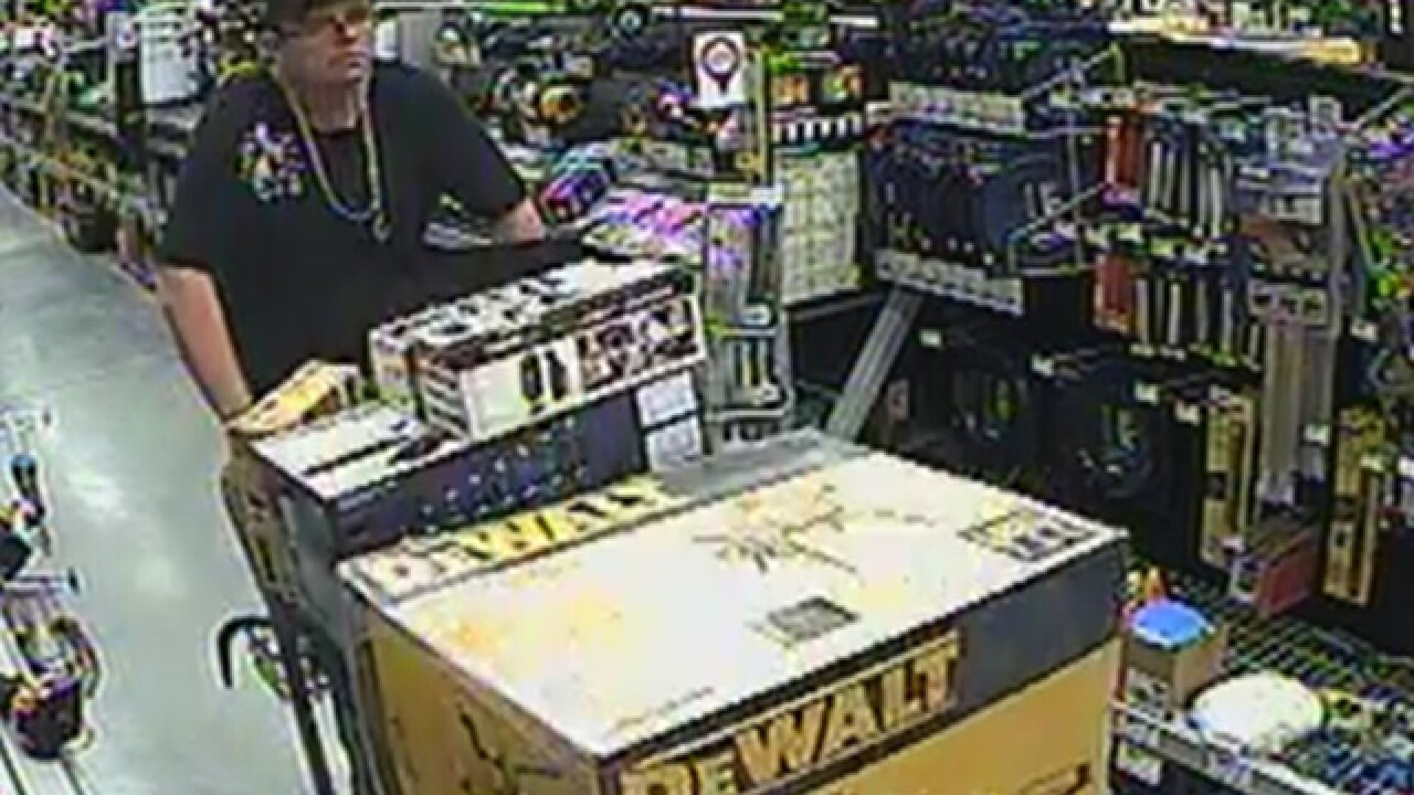 Man Wanted For Stealing Power Tools From Home Depot Stores In Palm