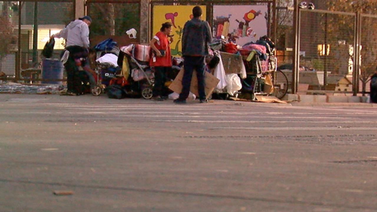 Denver to remove homeless camp