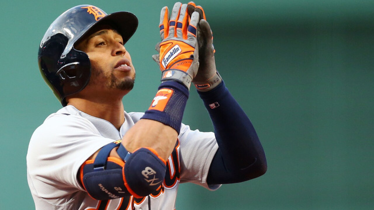 Martin home run, big first inning lift Tigers over Red Sox