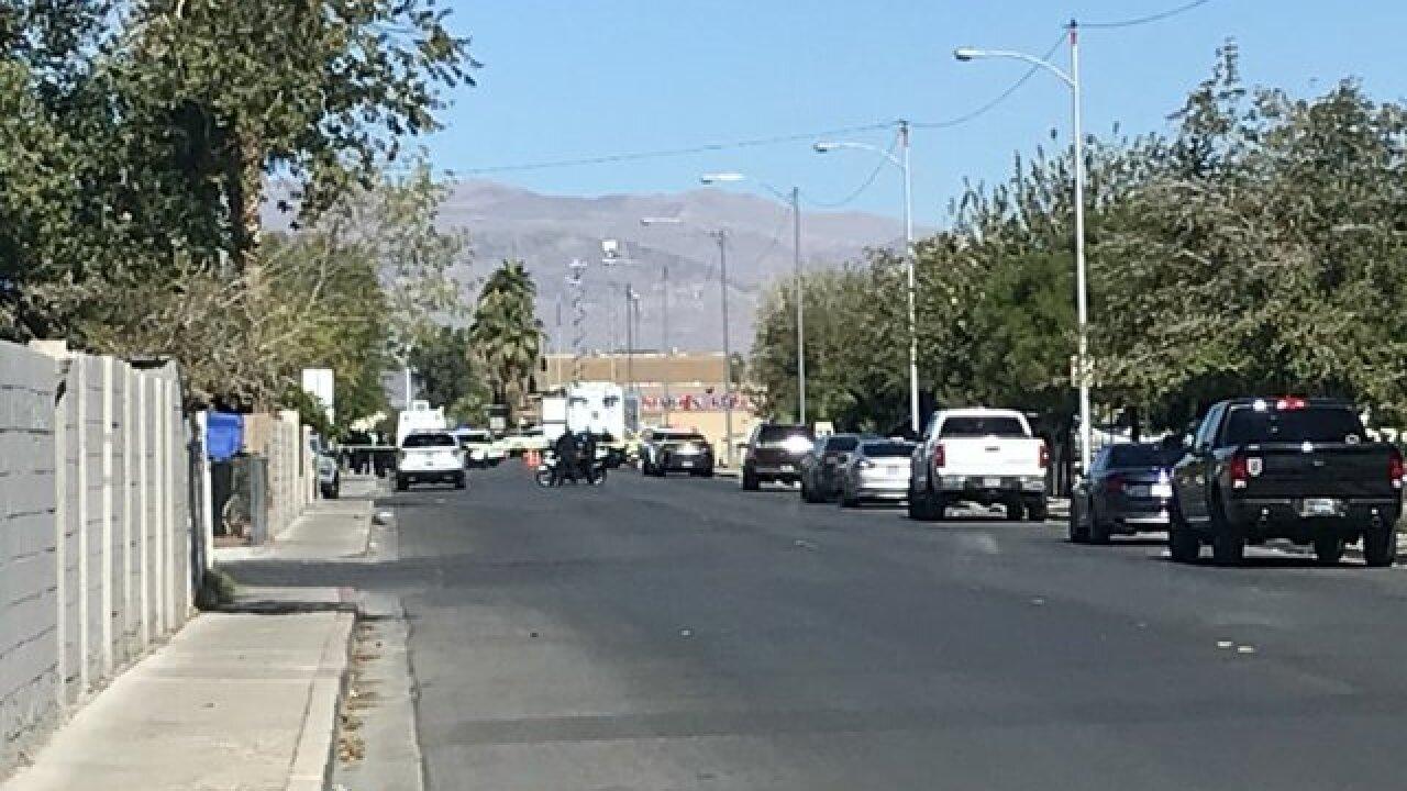 Shooting involving North Las Vegas police
