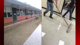 Three schools take on water in Evangeline Parish