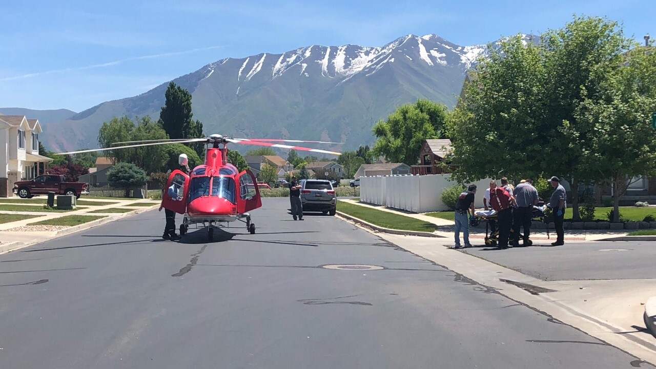 Spanish Fork toddler upgraded to good condition after fall from second-story window