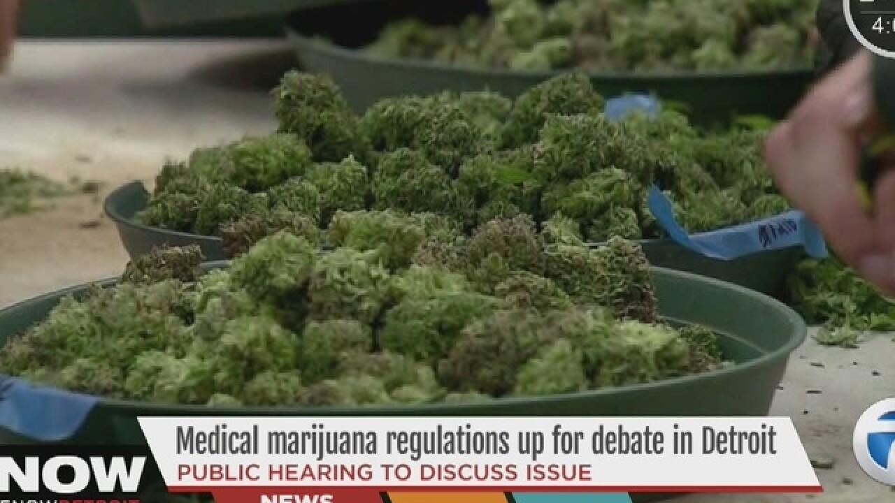 Public meeting on medical marijuana dispensaries