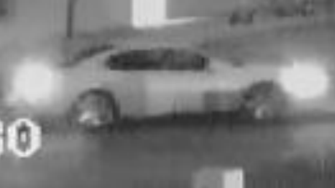 Hit-and-run car in North Park