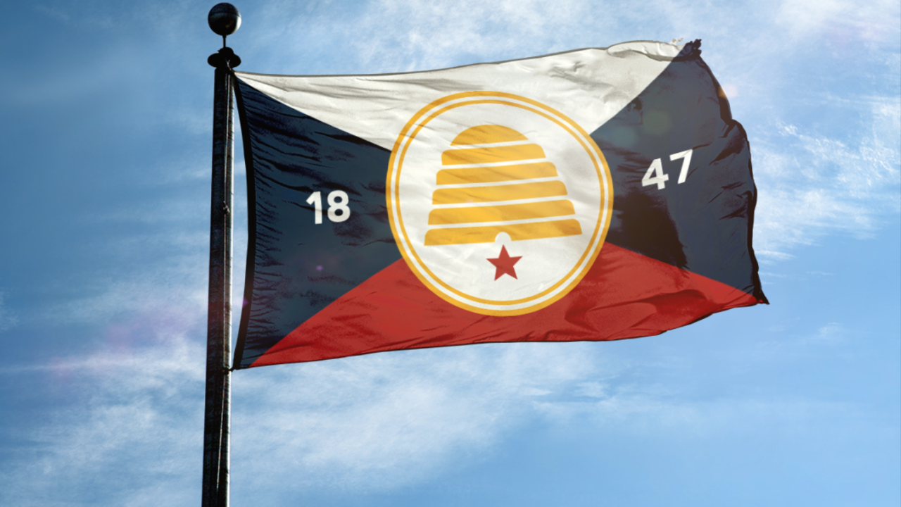 This could be Utah's new state flag under a bill in the legislature