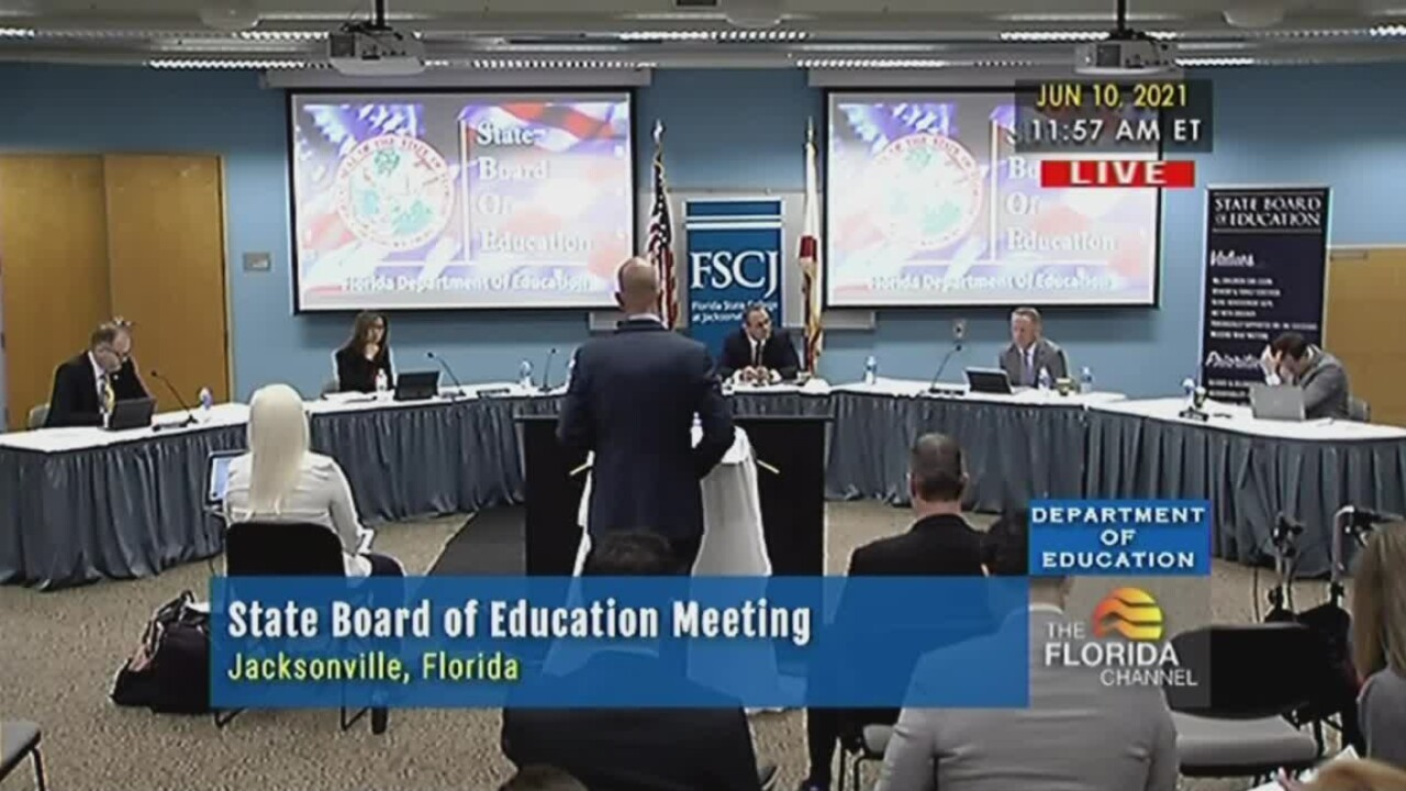 The Florida Board of Education meets on June 10, 2021.jpg