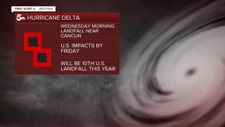 hurricane Delta headlines