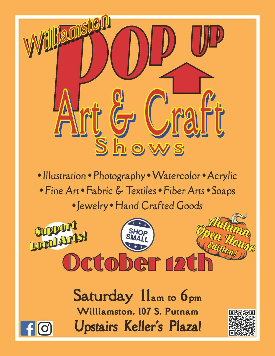 Williamston Pop Up Arts & Crafts