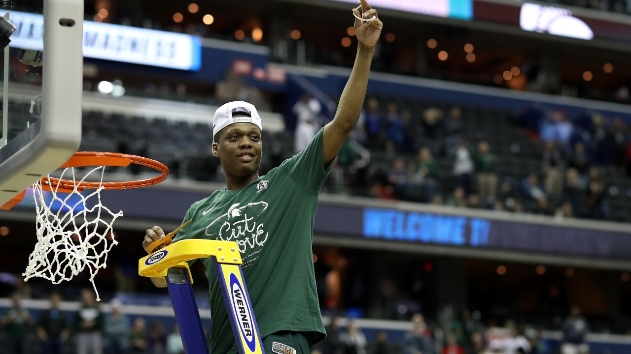 Michigan State's Cassius Winston has chance to join Magic and Mateen