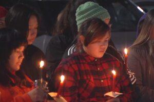Vigil held in Hardin for Selena Not Afraid