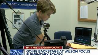 Wilson Focus students make their own news show