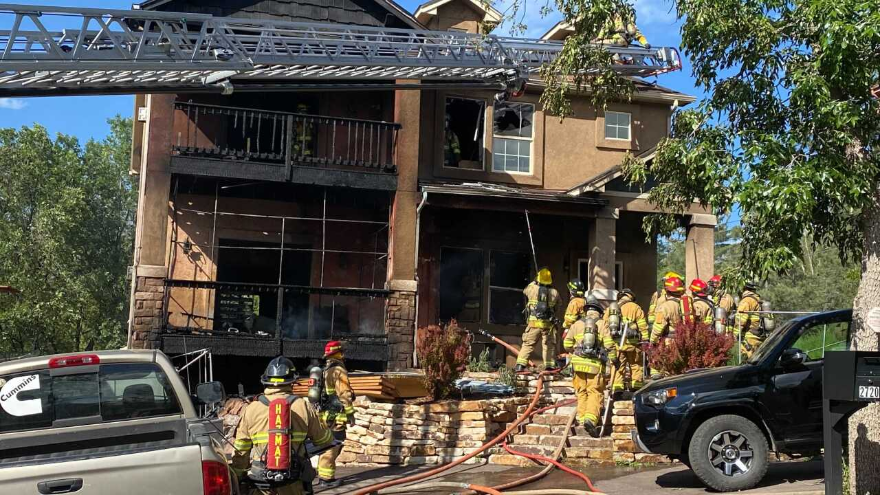 W Platte House Fire