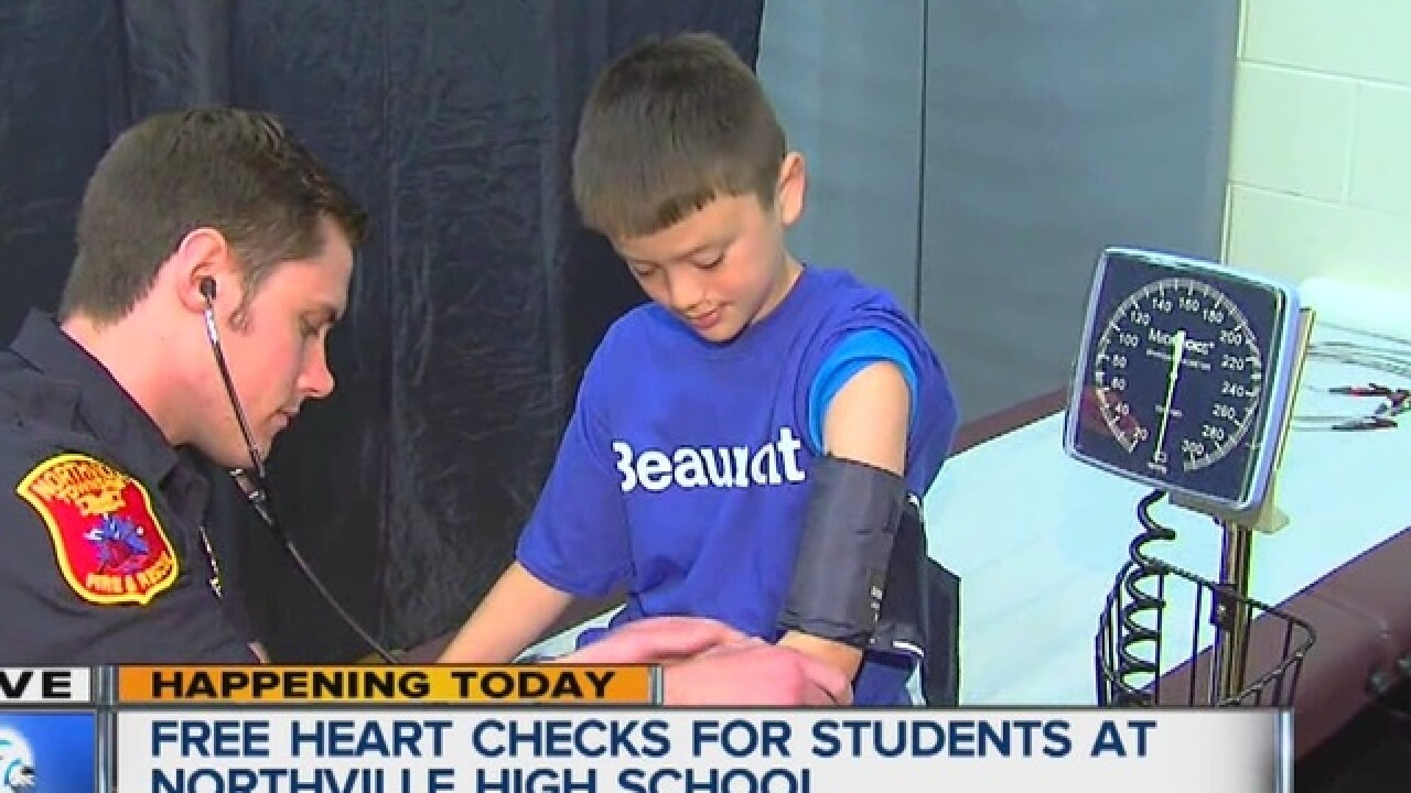 Free heart checks for students