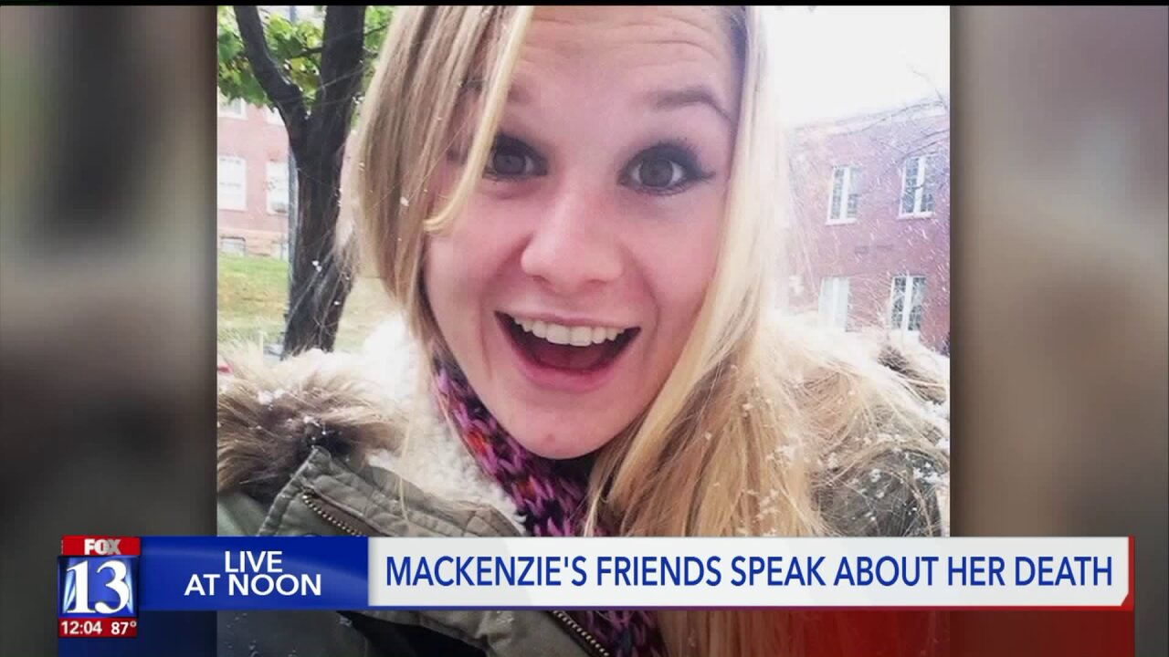 Friends push back against victim shaming in kidnapping, murder of MacKenzieLueck