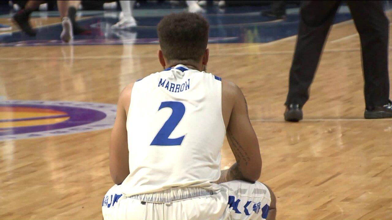 Hampton men and women fall in final MEAC Championshipgames