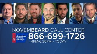 American Cancer Society NovemBeard Call Center Number 1-866-699-1726.png