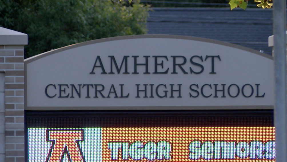Amherst Central High School Sign