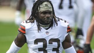 Browns-Sideline Skirmish Football