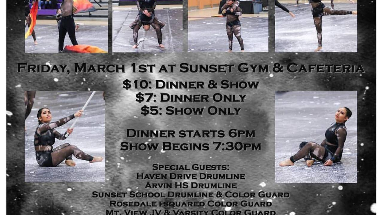 Arvin Color Guard Fund Raiser