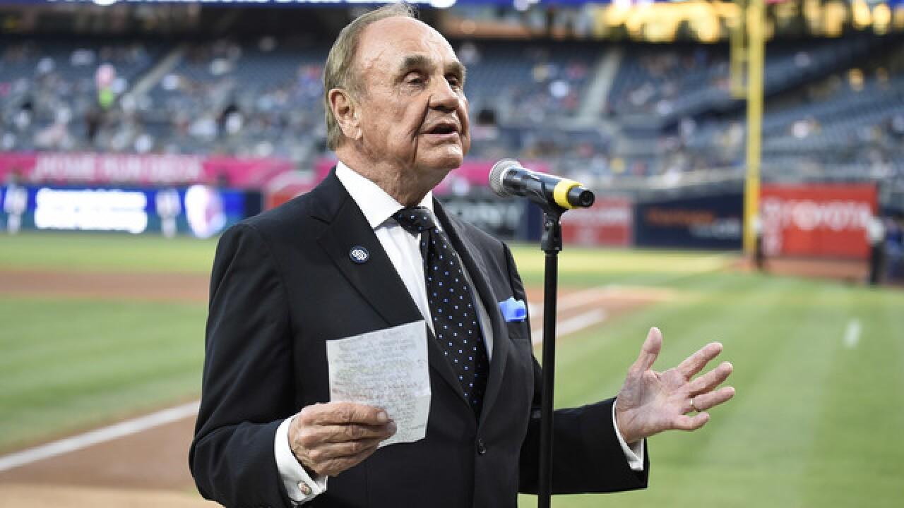 Broadcast legend Dick Enberg dies at 82