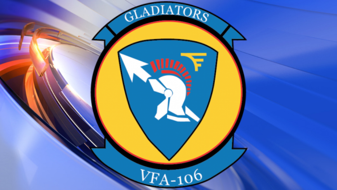 """July's Squadron of the Month: VFA-106 """"Gladiators"""""""