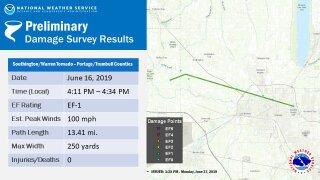 Trumbull County tornado