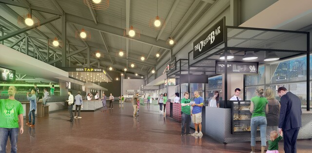 GALLERY: Bucks release updated renderings of finished arena