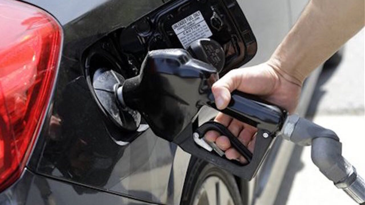 Gas prices on Sunday were nearly 35 cents higher than a year ago in Bakersfield