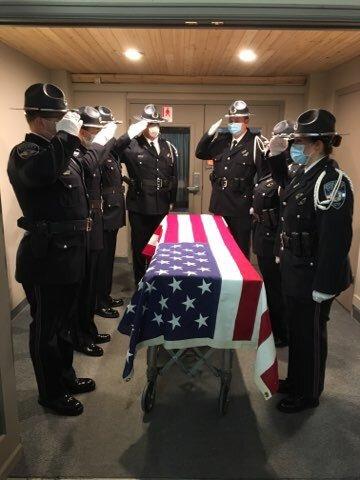 El Paso County Sheriff's Deputy Jeff Hopkins private memorial