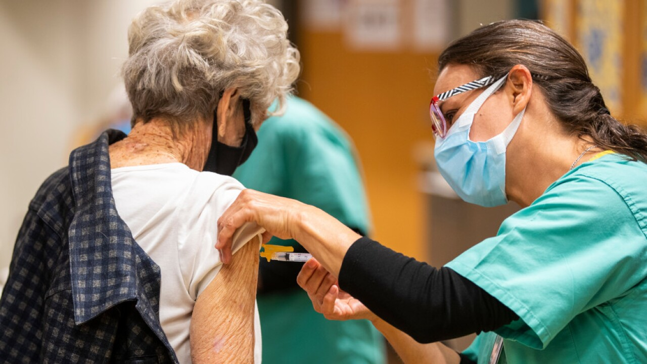 Pima County has started to offer the third dose of Pfizer and Moderna COVID-19 vaccines for some immunocompromised people. Photo via Pima County.