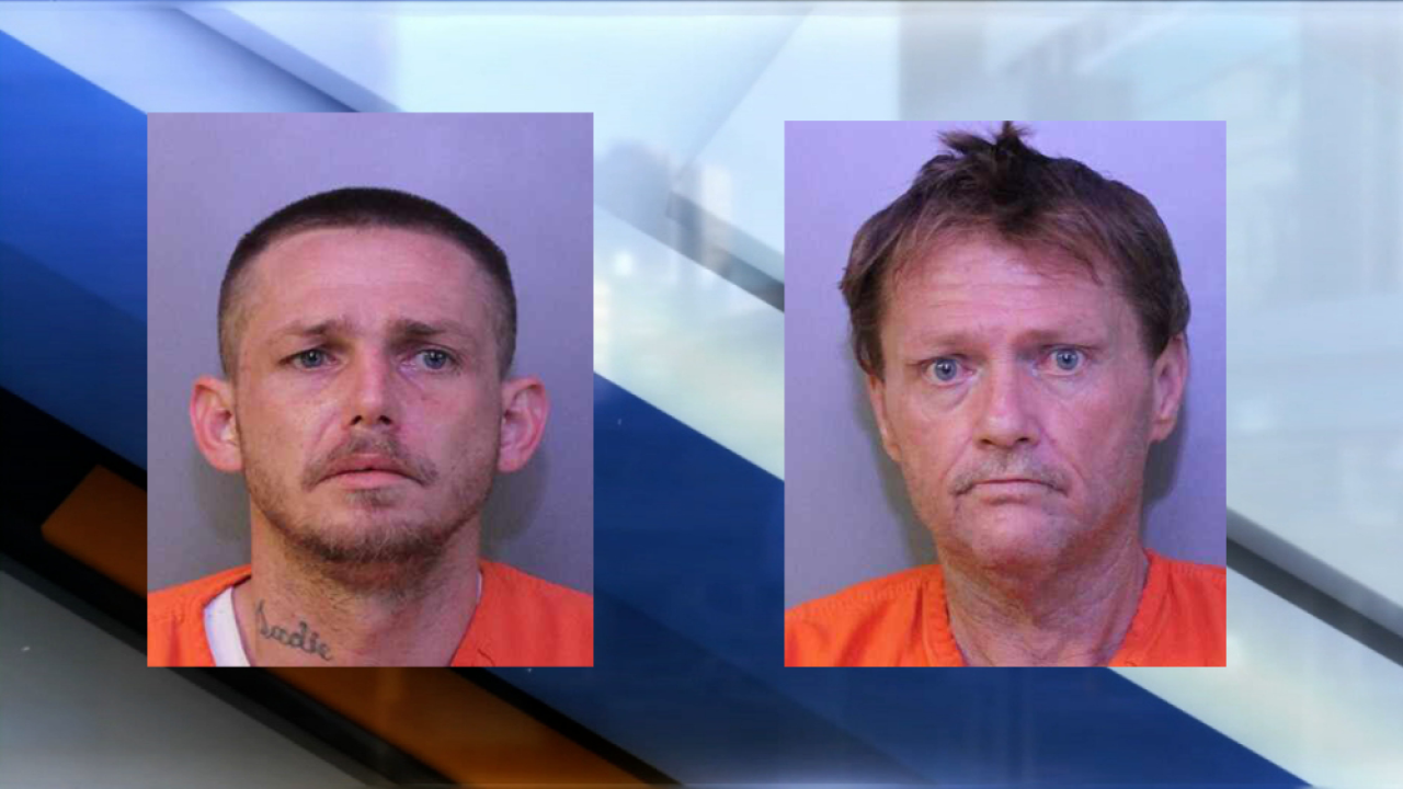 Father, son arrested in Polk County after stealing bike from