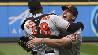 APTOPIX Orioles Mariners Baseball